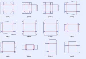 dieline templates
