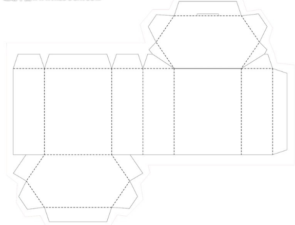0412 New Folding Carton Dieline Templates