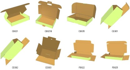 carton box templates