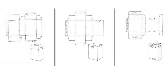 cigarette box template .