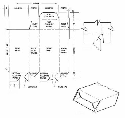 2012 Corrugated And Folding Carton Box Templates Page 4