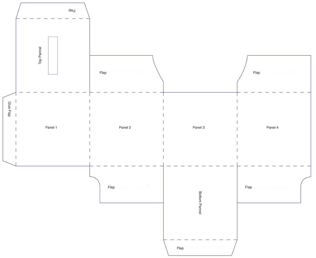 box templates corrugated and folding carton box templates page 4. Black Bedroom Furniture Sets. Home Design Ideas