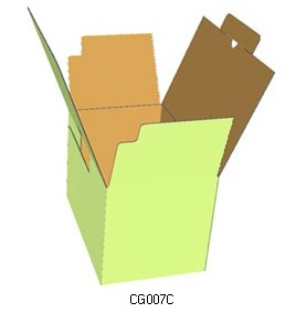 carton box template