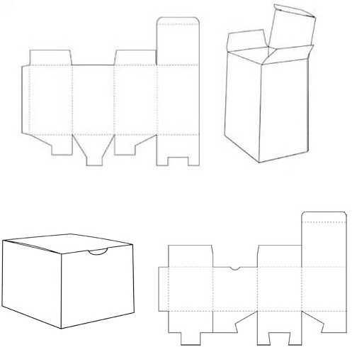 box templates corrugated and folding carton box templates page 3. Black Bedroom Furniture Sets. Home Design Ideas