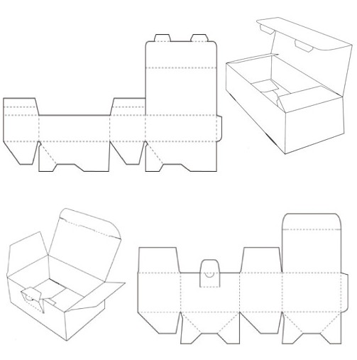 box templates corrugated and folding carton box templates page 3