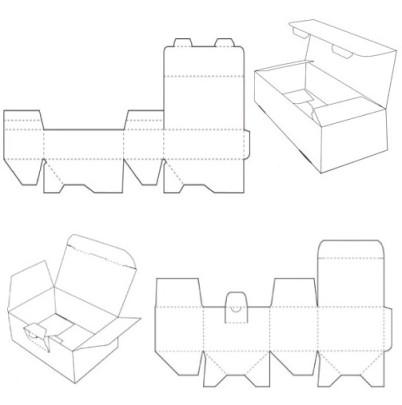 carton box template