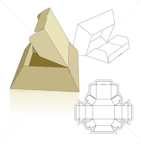 pyramid base box