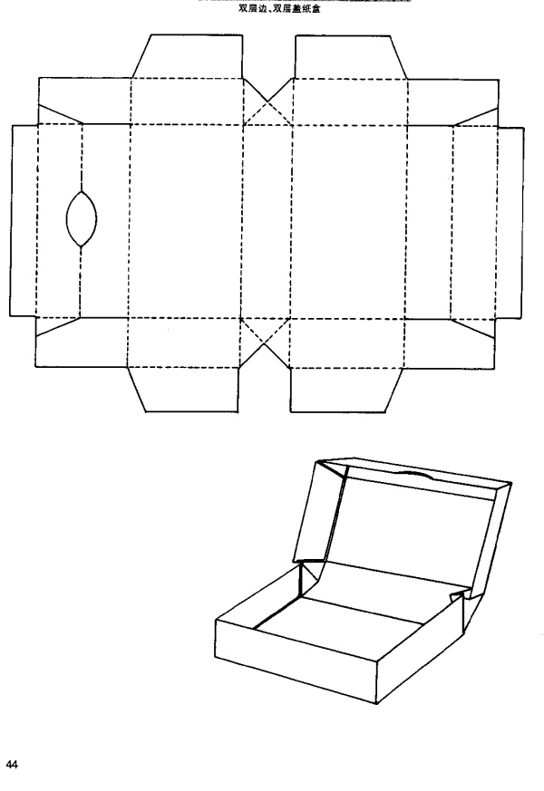 packaging box structure 2