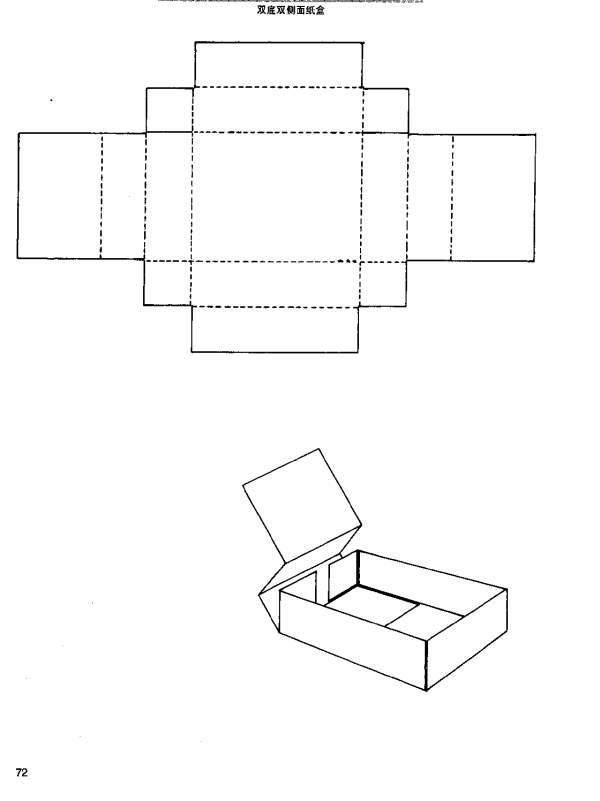 packaging box structure 32